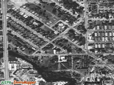 Franklin Park satellite photo by USGS