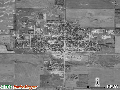 Ipswich satellite photo by USGS