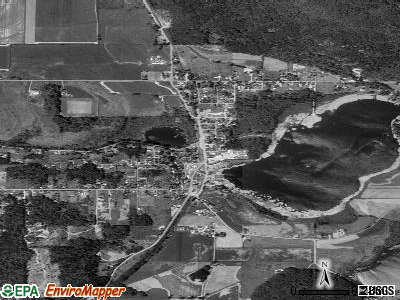 Sanford satellite photo by USGS