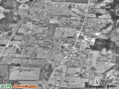 Chapel Hill satellite photo by USGS