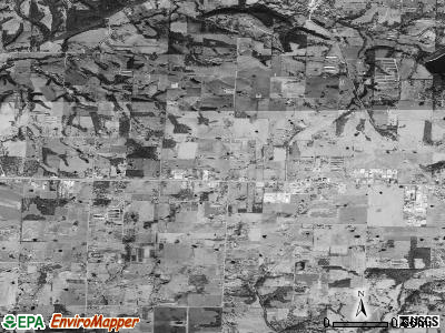 Tontitown satellite photo by USGS