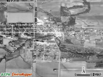 Shellsburg satellite photo by USGS