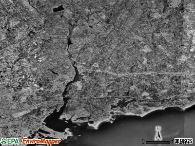 Westport satellite photo by USGS