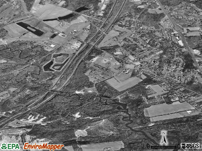 Allenwood satellite photo by USGS