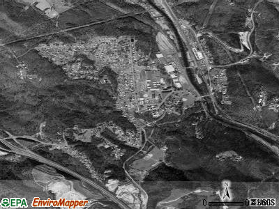 Nahunta satellite photo by USGS
