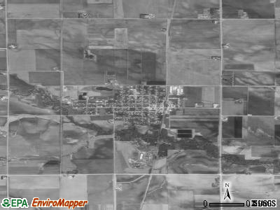 Sheffield satellite photo by USGS