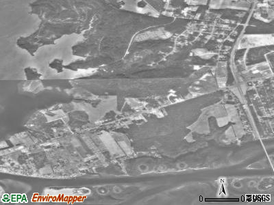 Cedar Point satellite photo by USGS