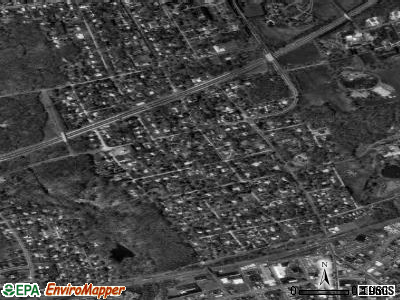 Langhorne Manor satellite photo by USGS