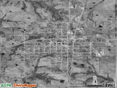 Grant City satellite photo by USGS