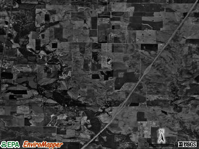 Northlake satellite photo by USGS