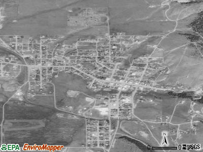 Philipsburg satellite photo by USGS