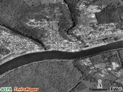 Rivesville satellite photo by USGS