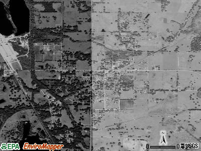 Center Hill satellite photo by USGS