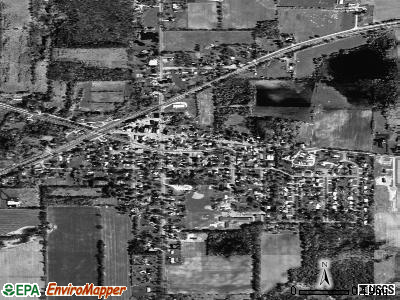 Parma satellite photo by USGS