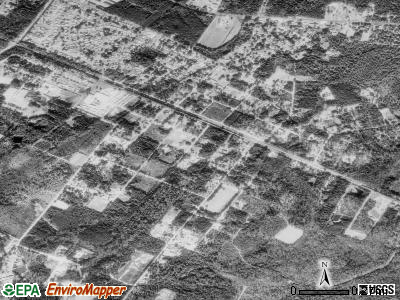 Lincolnville satellite photo by USGS