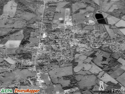 Lewisburg satellite photo by USGS
