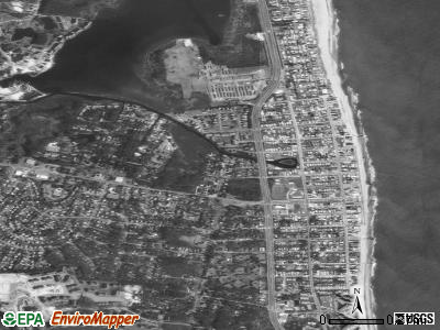 Bethany Beach satellite photo by USGS