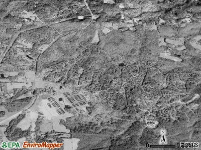 Fearrington satellite photo by USGS