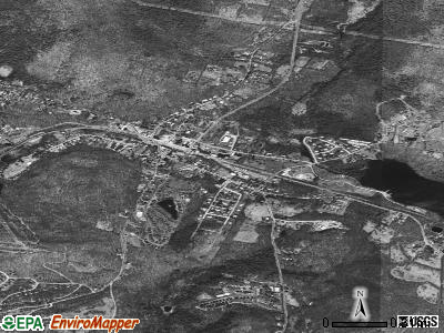 Woodridge satellite photo by USGS