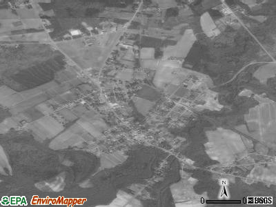Vanceboro satellite photo by USGS