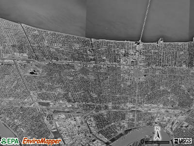 Metairie satellite photo by USGS