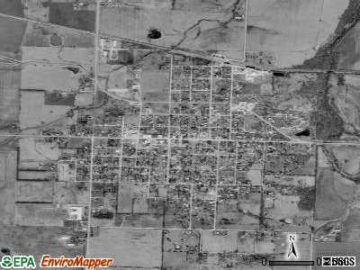 Golden City satellite photo by USGS