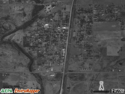 Oologah satellite photo by USGS