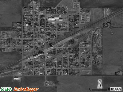 Godley satellite photo by USGS