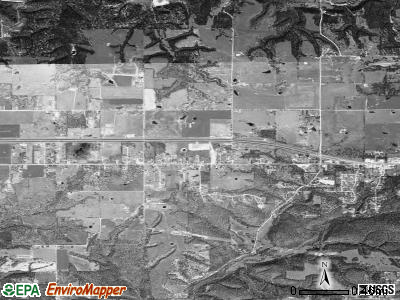 West Siloam Springs satellite photo by USGS