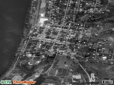 Halifax satellite photo by USGS