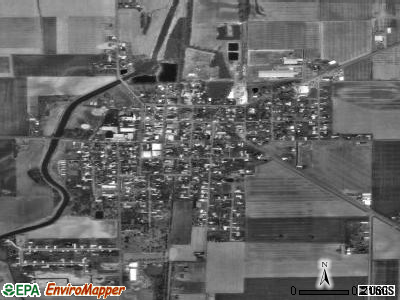 Ottoville satellite photo by USGS