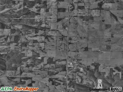Highlandville satellite photo by USGS