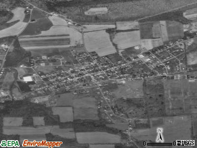 Beavertown satellite photo by USGS
