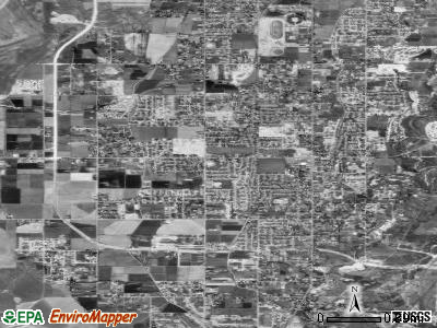 Riverton satellite photo by USGS