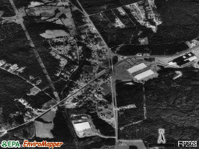 Fort Lawn satellite photo by USGS
