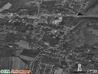 Rouzerville satellite photo by USGS