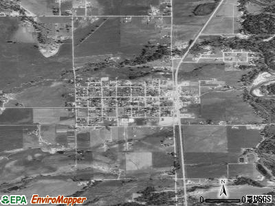 Victor satellite photo by USGS