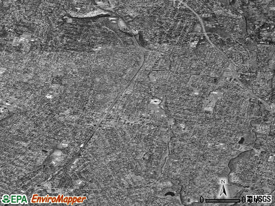 Ridgewood satellite photo by USGS