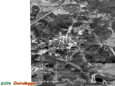 Decaturville satellite photo by USGS