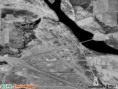Clearwater satellite photo by USGS