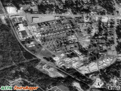 Remerton satellite photo by USGS