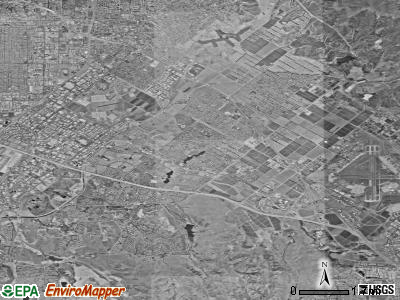 Irvine satellite photo by USGS