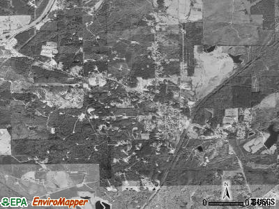 Heidelberg satellite photo by USGS
