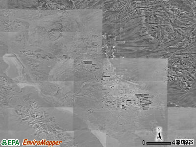 Pahrump satellite photo by USGS