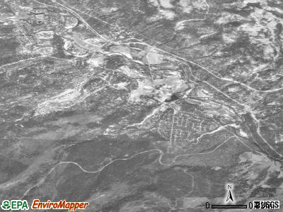 Graeagle satellite photo by USGS