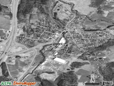 Orleans satellite photo by USGS