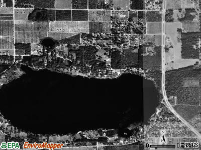 Tangerine satellite photo by USGS