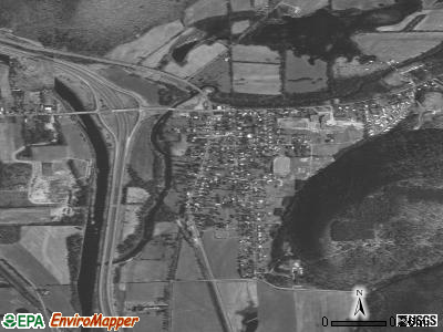Savona satellite photo by USGS