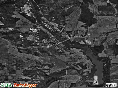 Autaugaville satellite photo by USGS