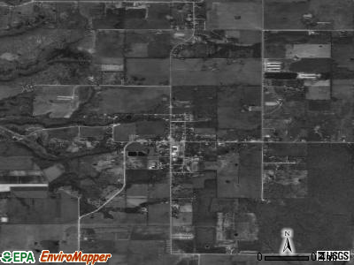Colcord satellite photo by USGS